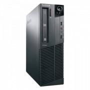 Calculator Lenovo M81 SFF, Intel Core i7-2600 3.40GHz, 4GB DDR3, 250GB SATA, DVD-ROM
