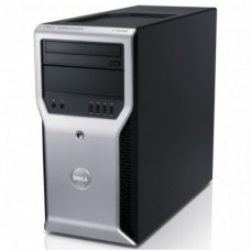 Workstation Dell Precision T1600, Intel Xeon Quad Core E3-1225 3.10GHz - 3.40GHz, 8GB DDR3, 500GB HDD, nVidia GT 605 1GB, DVD-RW
