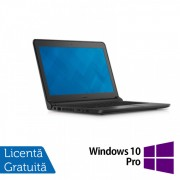 Laptop DELL Latitude 3350, Intel Core i3-5005U 2.00GHz, 8GB DDR3, 500GB SATA, Wireless, Bluetooth, Webcam, 13.3 Inch + Windows 10 Pro