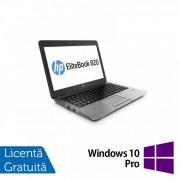 Laptop HP Elitebook 820 G2, Intel Core i5-5300U 2.30GHz, 8GB DDR3, 120GB SSD, Webcam, 12 Inch + Windows 10 Pro