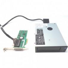 Back-up Tape Dell NP052 LTO3 Ultrium 3H 400/800GB 68Pin SCSI U320 + Controller LSI20320IE + Cablu
