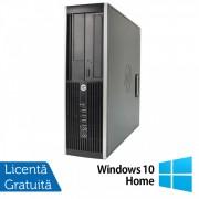 Calculator HP 6200 SFF, Intel Core i5-2400 3.10GHz, 8GB DDR3, 500GB SATA, DVD-ROM + Windows 10 Home (Top Sale!)