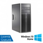 Calculator Refurbished HP Compaq 6200 Pro MT, Intel Pentium G620 2.60GHz, 4GB DDR3, 500GB, DVD-ROM + Windows 10 Home