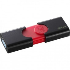 Memorie USB Kingston DataTraveler 106, 32GB, USB 3.1, Negru DT106/32GB