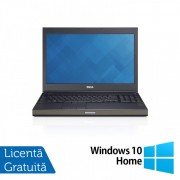 Laptop Dell Precision M4800, Intel Core i7-4810MQ 2.80GHz, 8GB DDR3, 240GB SSD, Tastatura Numerica, 15.6 Inch + Windows 10 Home