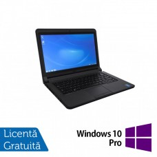 Laptop DELL Latitude 3340, Intel Core i5-4200U 1.60GHz, 4GB DDR3, 320GB SATA, Wireless, Bluetooth, Webcam, 13.3 Inch + Windows 10 Pro
