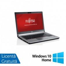 Laptop FUJITSU SIEMENS E734, Intel Core i5-4200M 2.50GHz, 8GB DDR3, 120GB SSD, 13.3 Inch, Fara Webcam + Windows 10 Home