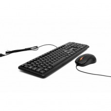 Kit Tastatura + Mouse SPACER SPDS-S6201, Qwerty, USB, 1000 - 2000 dpi, Negru