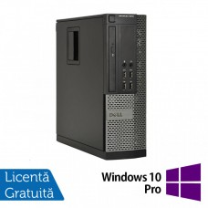 Calculator DELL OptiPlex 9010 SFF, Intel Core i5-3570 3.40 GHz, 8GB DDR3, 500GB SATA, DVD-ROM + Windows 10 Pro