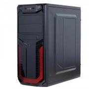 Sistem PC Gaming, Intel Core i3-4160 3.60GHz, 16GB DDR3, 120GB SSD + 1TB SATA, Placa video RX 470 8GB GDDR5, DVD-RW, CADOU Tastatura + Mouse