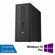 Calculator HP EliteDesk 800 G1 Tower, Intel Pentium G3220 3.00GHz, 8GB DDR3, 500GB SATA, DVD-RW + Windows 10 Pro
