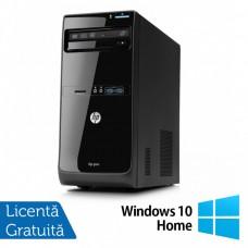 Calculator HP Pro 3505 Tower, AMD A6-3600 2.10GHz, 4GB DDR3, 250GB SATA, DVD-RW + Windows 10 Home