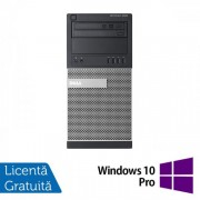 Calculator DELL Optiplex 9020 Tower, Intel Core i5-4570 3.20GHz, 8GB DDR3, 120GB SSD, DVD-ROM + Windows 10 Pro