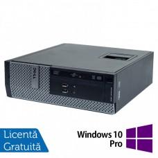 Calculator DELL 3010 SFF, Intel Core i5-3470 3.20GHz, 8GB DDR3, 250GB SATA + Windows 10 Pro
