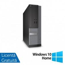 Calculator DELL 3020 SFF, Intel Core i5-4590 3.30GHz, 4GB DDR3, 500GB SATA, DVD-RW + Windows 10 Home