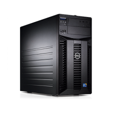 Server Dell PowerEdge T310 Tower, Intel Quad Core Xeon X3430 2.4 GHz-2.8GHz, 8GB DDR3 ECC Reg, 2x 1TB SATA, Raid Controller H200, idrac 6 Enterprise, 2x LAN Gigabit, 2x Surse HOT SWAP