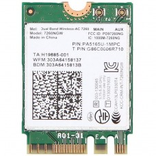 Modul M.2 2230 Intel Dual Band Wireless AC, 7260NGW, 867Mbps, 802.11ac, 2x2, Bluetooth 4.0, Compatibil doar cu Lenovo Thinkpad