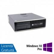 Calculator HP 8300 Elite Desktop, Intel Core i5-3470s 2.90GHz, 4GB DDR3, 500GB SATA + Windows 10 Pro