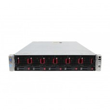 Server HP ProLiant DL560 G8 2U, 4 x CPU Intel Hexa Core Xeon E5-4610 2.40GHz - 2.90GHz, 32GB DDR3 ECC, 2 X SSD 240GB, Raid P420i/1GB, iLO4 Advanced, 4 Port xGigabit, 2x Surse Hot Swap