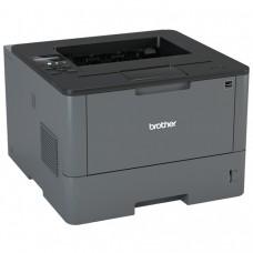 Imprimanta Laser Monocrom Brother HL-L5100DN, Duplex, A4, 40ppm, 1200 x 1200, USB, Retea, Toner si Unitate Drum Noi