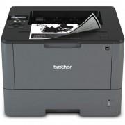Imprimanta Laser Monocrom Brother HL-L5200DW, Duplex, A4, 40ppm, 1200 x 1200, USB, Retea, Wireless, Toner si Drum Noi