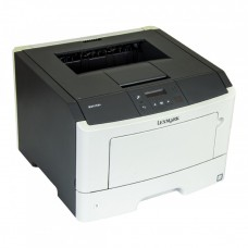Imprimanta Laser Monocrom Lexmark MS410dn, Duplex, A4, 38ppm, 1200 x 1200, USB, Retea