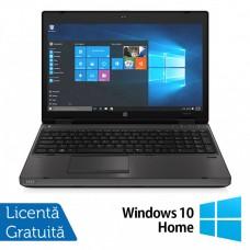 Laptop HP 6570b, Intel Core i5-3210M 2.50GHz, 8GB DDR3, 240GB SATA, DVD-RW, 15.6 inch, LED, Webcam, Tastatura numerica + Windows 10 Home
