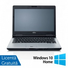 Laptop FUJITSU SIEMENS S751, Intel Core i7-2620M 2.70GHz, 4GB DDR3, 120GB SSD, DVD-RW, Webcam, 14 Inch + Windows 10 Home