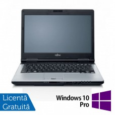 Laptop FUJITSU SIEMENS S751, Intel Core i7-2620M 2.70GHz, 4GB DDR3, 120GB SSD, DVD-RW, Webcam, 14 Inch + Windows 10 Pro