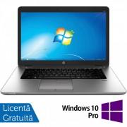 Laptop HP EliteBook 850 G1, Intel Core i5-4300U 1.90GHz, 4GB DDR3, 500GB SATA, 15.6 Inch, Webcam + Windows 10 Pro