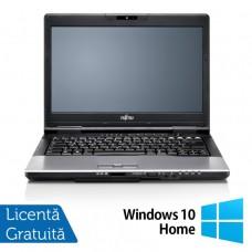 Laptop FUJITSU SIEMENS S752, Intel Core i5-3210M 2.50GHz, 4GB DDR3, 320GB SATA, DVD-ROM, 14 Inch + Windows 10 Home