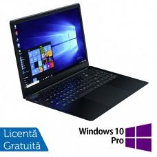 Laptop Slim School WEIGO WHA-156H, Intel Quad Core Celeron N4100, 1.10 - 2.40GHz, 8GB DDR4, 64GB eMMC + 128GB SSD, 15.6 Inch IPS Full HD, Webcam + Windows 10 Pro
