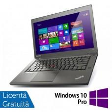 Laptop Refurbished Lenovo ThinkPad T440s, Intel Core i7-4600U 2.10GHz, 8GB DDR3, 240GB SSD, 14 Inch + Windows 10 Pro