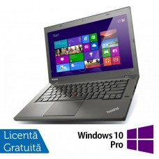 Laptop LENOVO ThinkPad T440P, Intel Core i5-4200M 2.5GHz, 8GB DDR3, 320GBSATA, DVD-RW, 14 Inch + Windows 10 Pro