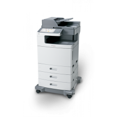 Multifunctionala Color Lexmark X792DE, A4, 50 ppm, 1200 x 1200 dpi, Retea, USB, Fax, Copiator, Scanner