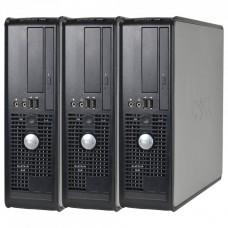 Pachet 3x Calculator Dell Optiplex 755 SFF, Intel Core 2 Duo E6550 2.33GHz, 2GB DDR2, 80GB SATA, DVD-RW