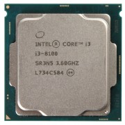 Procesor Intel Core i3-8100 3.60GHz, 4 Nuclee, 6MB Cache, Socket 1151