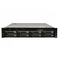 Server Dell PowerEdge R720, 2x Intel Xeon Octa Core E5-2670, 2.60GHz - 3.30GHz, 144GB DDR3 ECC, 2 x SSD 240GB SATA + 2 x 2TB HDD SAS + 4 x 3TB HDD SATA, Raid Perc H710 mini, Idrac 7 Enterprise, 2 surse HS