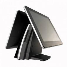 Sistem POS FEC AerPOS AP-3615, 2 x 15 Inch LCD TouchScreen, 1024 x 768, Intel Celeron G540 2.50GHz, 4GB DDR3, 320GB SATA