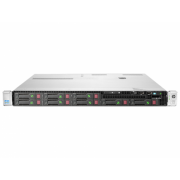 Server HP ProLiant DL360e G8, 1U, 2x Intel Octa Core Xeon E5-2450L 1.8 GHz-2.3GHz, 128GB DDR3 ECC Reg, 2x SSD 240GB SATA + 6x 900GB SAS/10k, Raid Controller HP SmartArray P822/2GB, iLO 4 Advanced, 2x Surse HOT SWAP