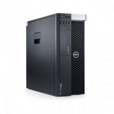 Workstation DELL Precision T3600 Intel Xeon Quad Core E5-1620 3.60GHz-3.80 GHz 10MB Cache, 24GB DDR3 ECC, 1TB HDD SATA, Placa Video Nvidia Quadro K2000 2GB/128biti
