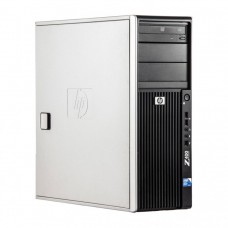WorkStation HP Z400, Intel Xeon Quad Core W3520 2.66GHz-2.93GHz, 12GB DDR3, 1TB SATA, Placa Video AMD Radeon R7 350, 4GB GDDR5 128-Bit, DVD-RW